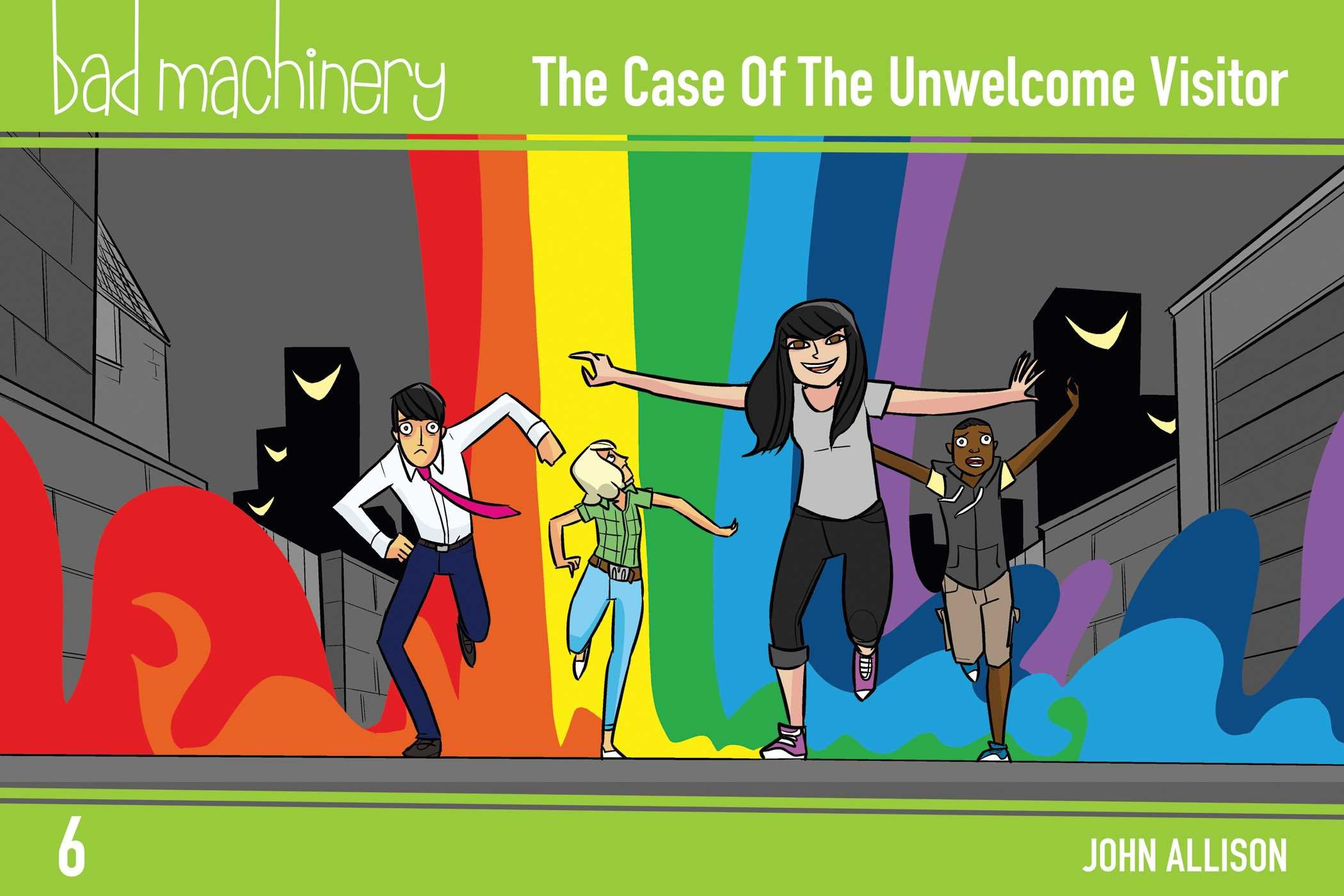 Download Bad Machinery Vol. 6: The Case of the Unwelcome Visitor, Pocket Edition PDF