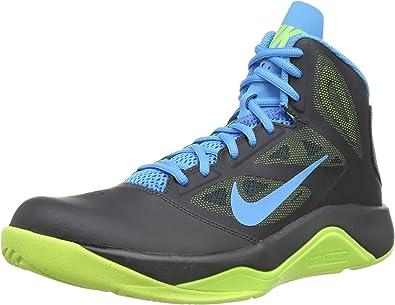 Turbulencia utilizar Hambre  Nike Dual Fusion BB II, Zapatillas de Baloncesto para Hombre, Negro  (Schwarz (Anthracite/Vivid Blue-Volt), 42.5 EU: Amazon.es: Zapatos y  complementos