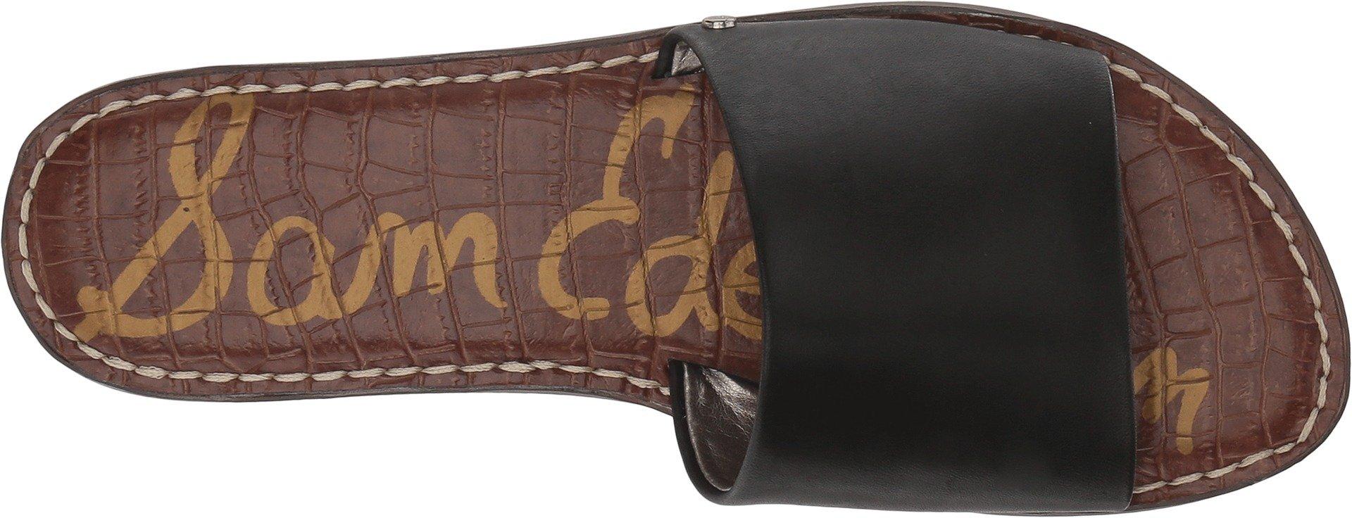 Sam Edelman Women's Gio Black Antanado Leather 7.5 M US by Sam Edelman (Image #2)
