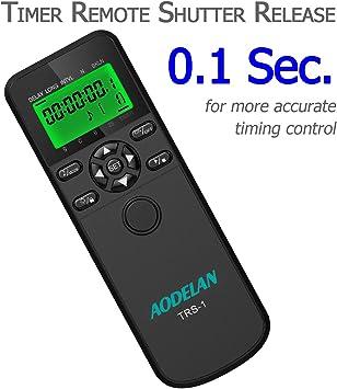 objetivo remoto camara digital Intervalometro y disparador para Nikon D7100