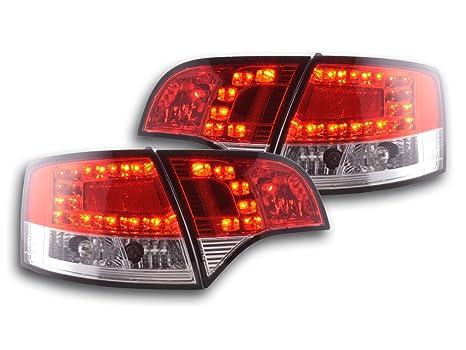 at72720 – LED Faros traseros Audi A4 Avant Tipo 8E Bj. 04 – 08 rojo