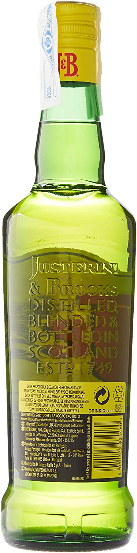 J&B Urban Honey Whisky Escocés - 700 ml