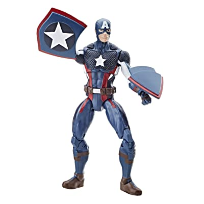 Marvel Legends Series Captain America, 3.75-in: Hasbro: Toys & Games