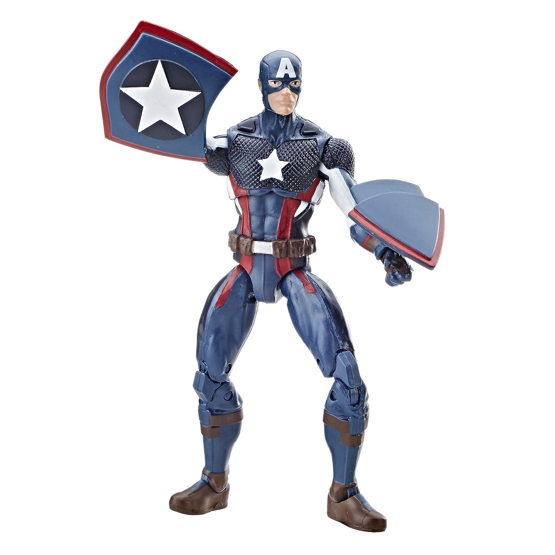 Marvel Legends Universe Lot De 4 Captain America Marvel ULTRON Spider man Noir