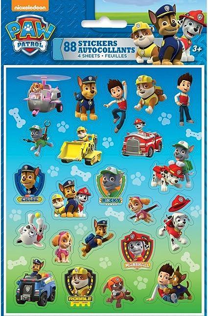 Unique Industries, PAW Patrol, Puffy Sticker Sheet