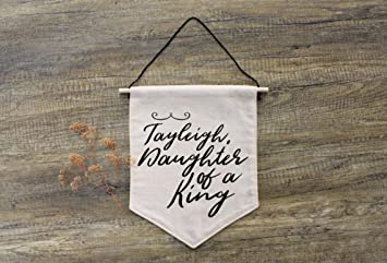 Amazoncom Daughter Of A King Personalizable Decor Little Girl