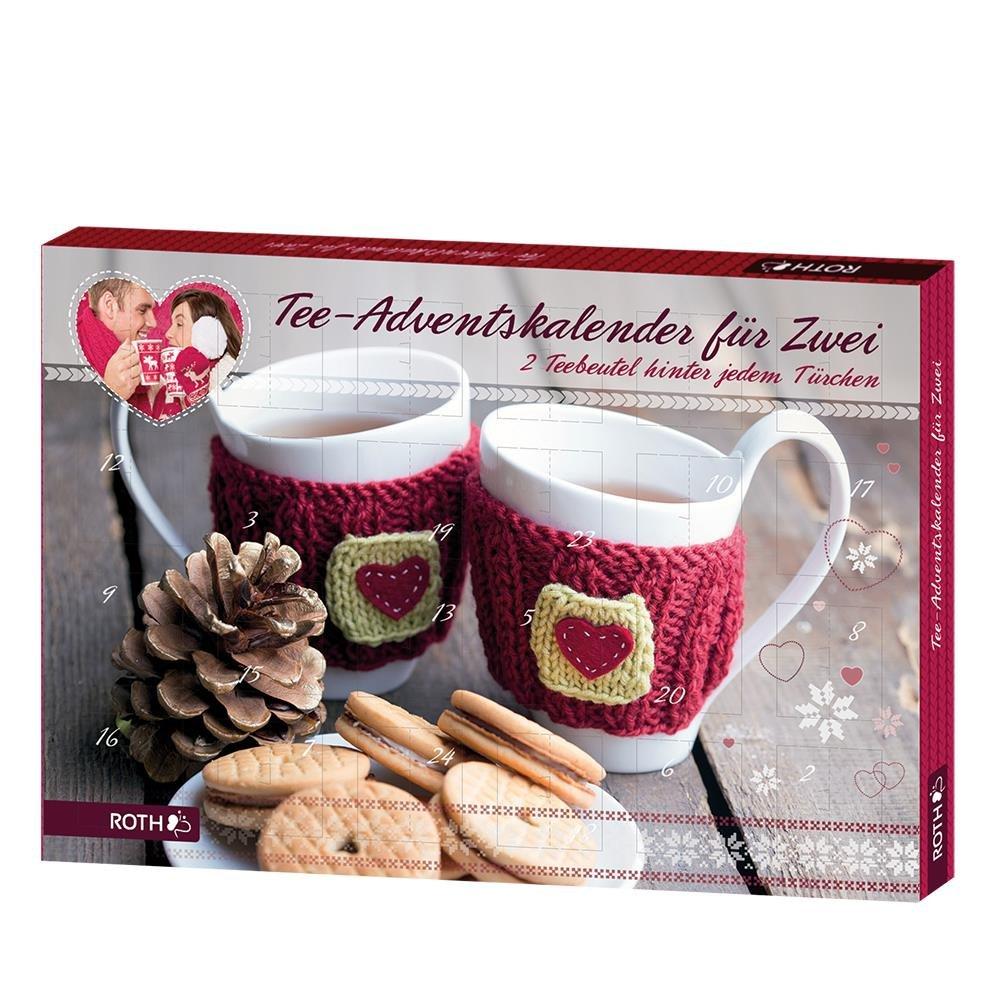 """Roth Tee-Adventskalender """"Für Zwei"""", 1er Pack (1 x 73 g): Amazon.de ..."""