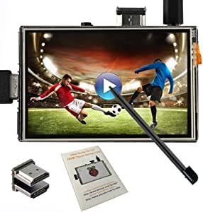 """OSOYOO LCD Touch Screen 3.5"""" HDMI Display Monitor TFT for Raspberry Pi 3 2 Model B Audio Output with Stylus Pen"""