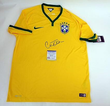 Willian Brazil Brasil Chelsea Signed Autograph Official Jersey PSA ...