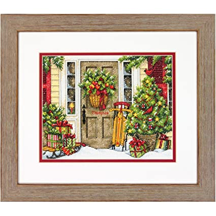 Dimensions Welcome Each New Day Mini Counted Cross Stitch Kit