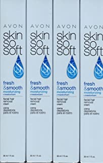Avon Skin So Soft Facial Hair Removal Cream Lot of 4