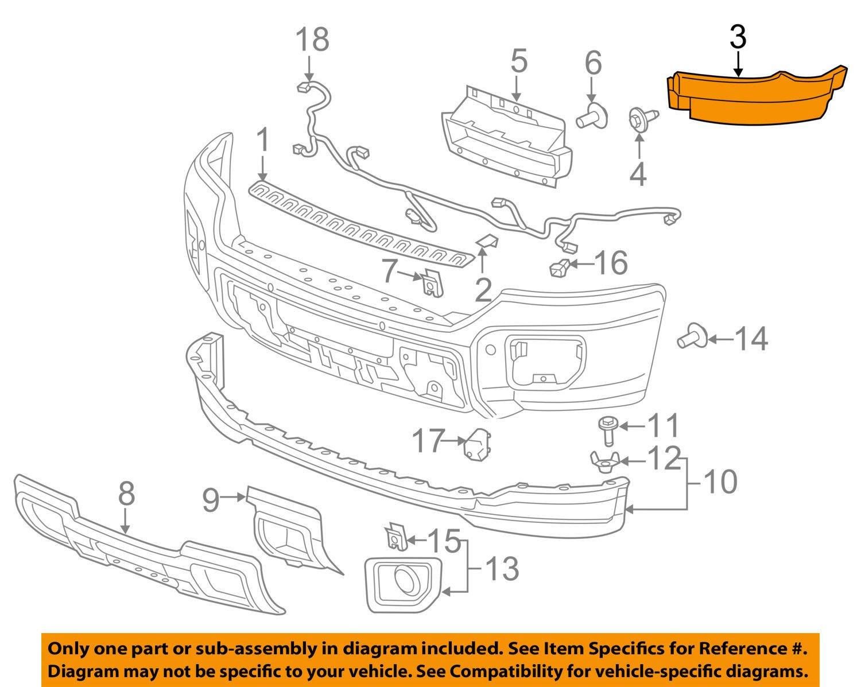 Genuine GM Parts 15923613 Fascia Bracket