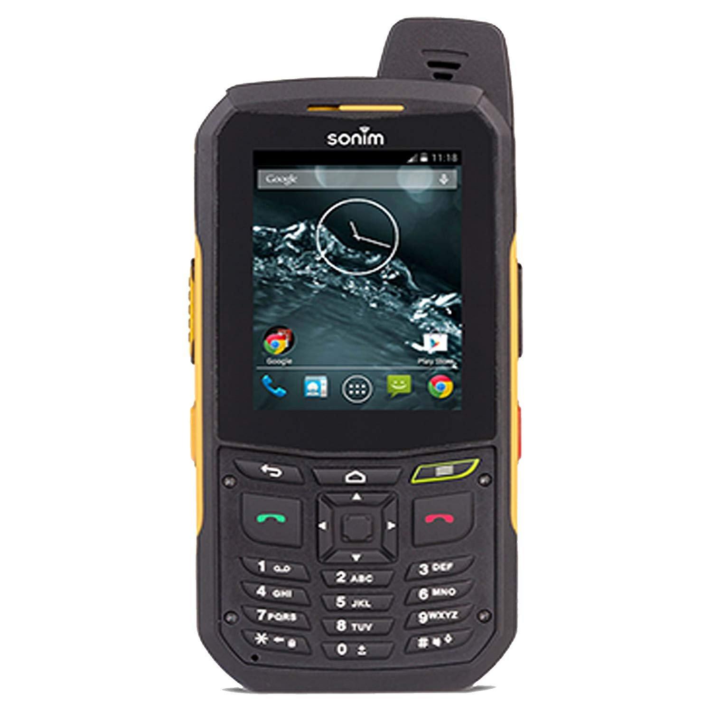 Sonim XP6   4G LTE   8GB, 1GB RAM   4800 mAh battery   Car/Truck PTT Combo Kit   (Black/Yellow) - AT&T Unlocked