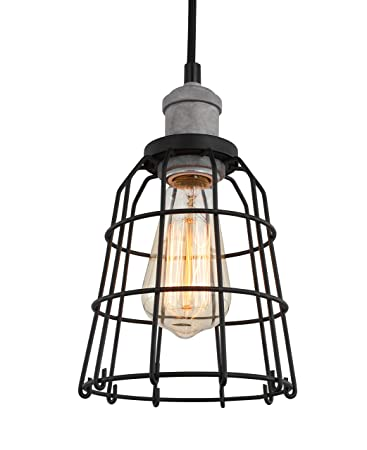 Amazon.com: Woodbridge Lighting 18323GYPWL-SW106BK - Lámpara ...