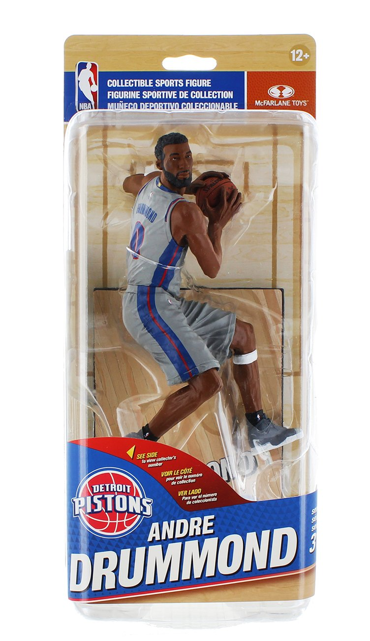 NBA Detroit Pistons SportsPicks Series 31 Figure: Andre Drummond (Variant) Mcfarlane Toys
