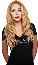 IRRESISTIBLE ME 1 piece Clip in Hair Extensions Honey Blonde (Color #28) -