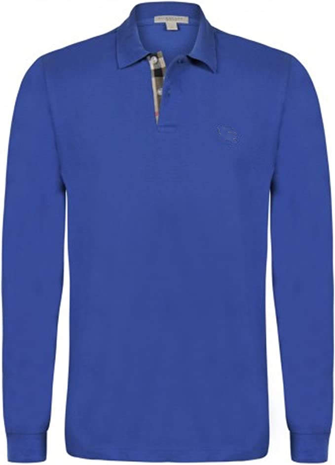 Burberry - Camiseta de Manga Larga - para Hombre Light Steel Blue ...