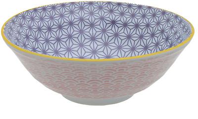 Tokyo Design Studio Starwave Noodle Bowl - Wave - Purple/Pink at Amara