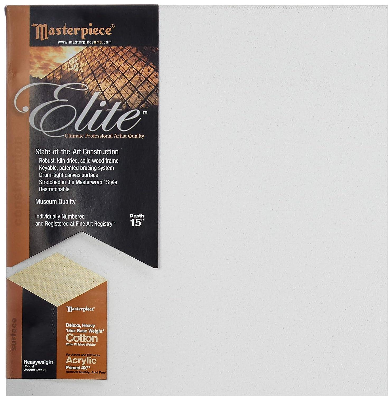 Masterpiece Artist Canvas 35312 Elite 1-1//2 Deep 14 x 18 Portrait Smooth Acrylic Primed Belgian Linen