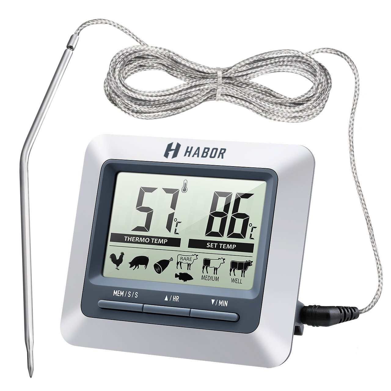 HABOR Grillthermometer HCP5H im Test