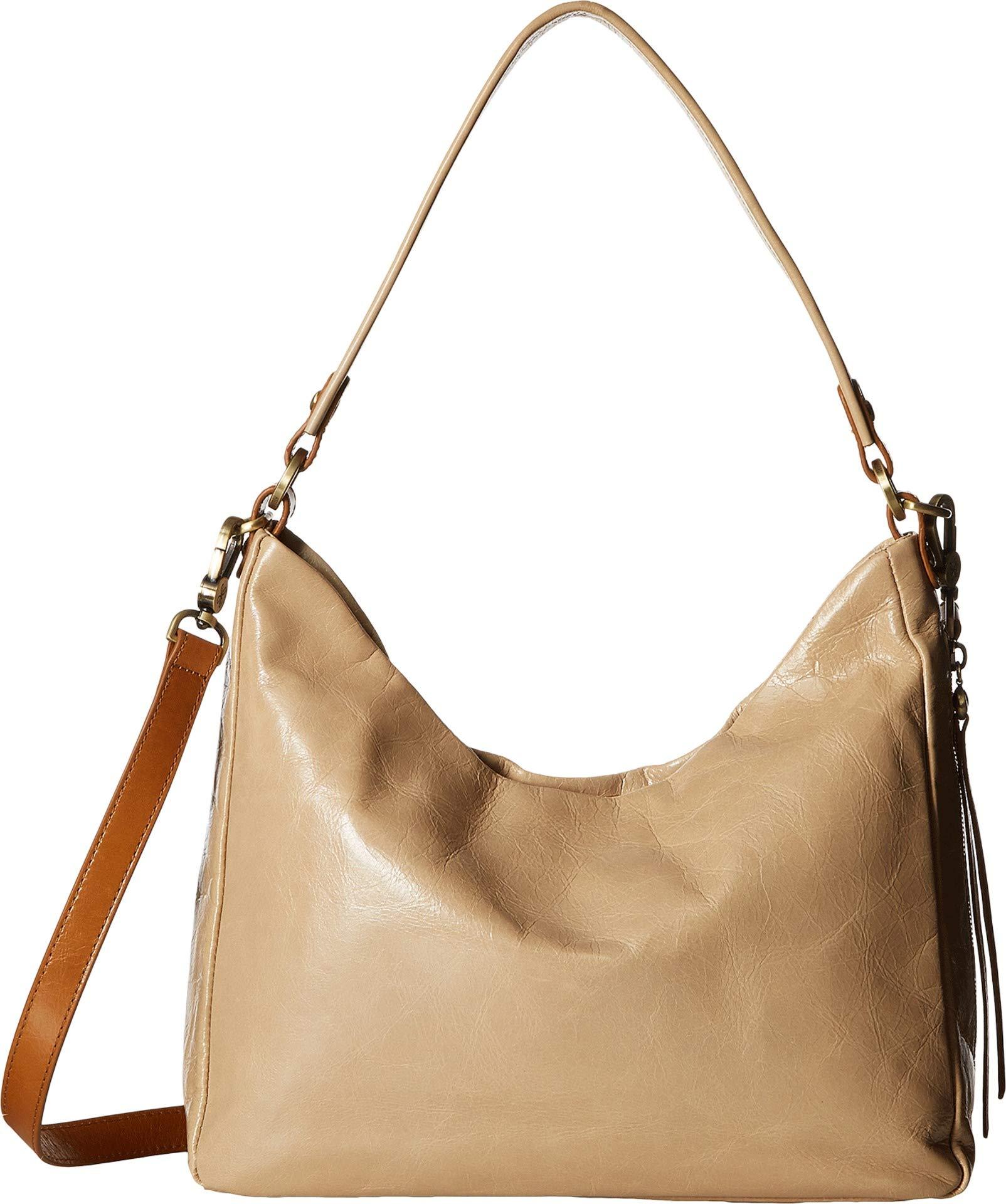 Hobo Women's Leather Delilah Convertible Shoulder Bag (Parchment)