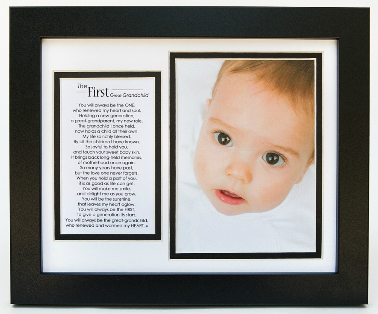 The Grandparent Gift First Great-Grandchild Photo Frame The Grandparent Gift Co. 1074B