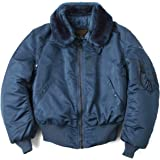 (アルファインダストリーズ) ALPHA 1990年代デッドストック MADE IN USA VINTAGE B-15フライトジャケット AIR FOROCE BLUE