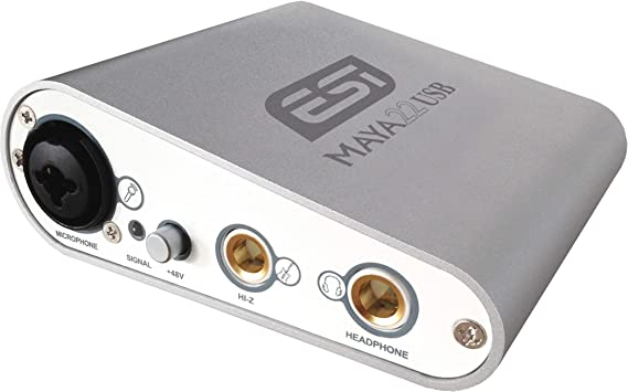 ESI Maya22 USB 2 Input/2 output 96kHz 24-bit Audio Interface