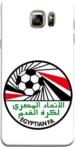 ColorKing Football Egypt 14 White shell case cover for Samsung S6 Edge Plus