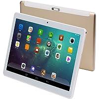 """10 Pulgadas Tablet PC(10.1""""), 4G-LTE Octa Core, Andorid 7.0, 1920x1200 HD, 4 GB de RAM, 64GB de Memoria Interna, Dual SIM, Dual Camera, WiFi, Bluetooth, GPS, OTG (Dorado)"""