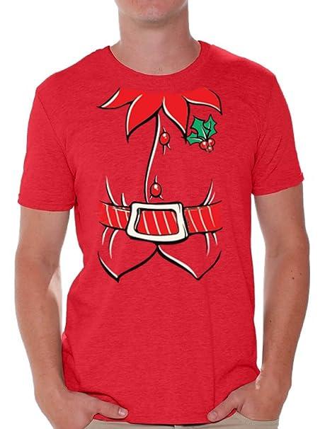 Amazon.com: Awkward estilos duende de la Navidad Camisa ...