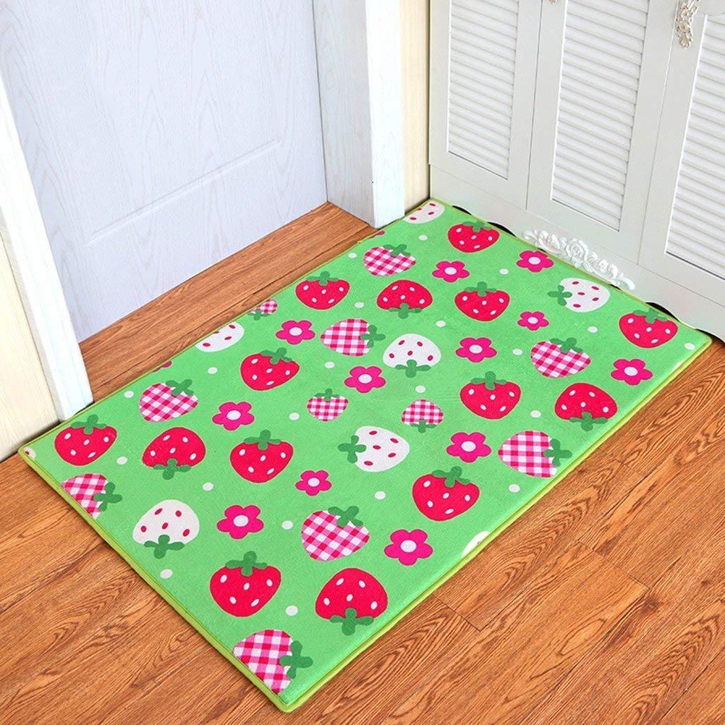 JU Obst Erdbeere Erdbeere Erdbeere Tür Matratze Schlafzimmer Badezimmer Tür Anti-Skid Matratze Tür Saug Pad Pad Home Entry Mat B07HL2P7GM | Sale Online Shop  94d97a