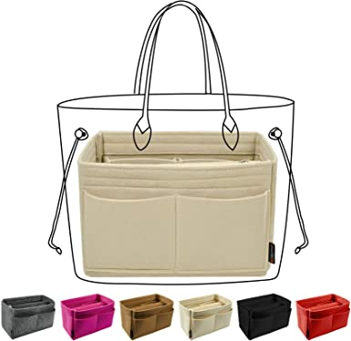 Amazon.com: Purse Organizer Insert, Handbag & Tote Organizer, Bag in Bag,  Perfect for Speedy Neverfull and More: Clothing