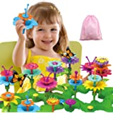 Girls Toys Flower Garden Building Toys for 3 4 5 6 Years Old Girls and Boys Toddlers Kids Gifts for 3+ Years Old…