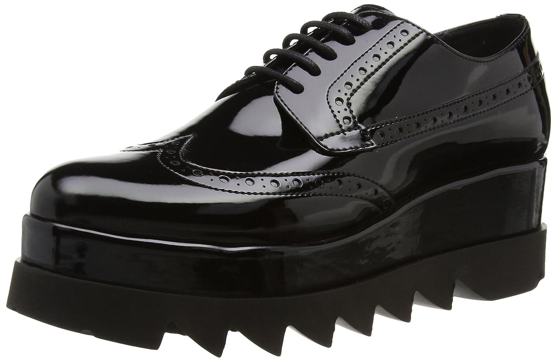 Cult Alice Low 892, Zapatos de Cordones Brogue para Mujer 41 EU|Negro (Nero 999)