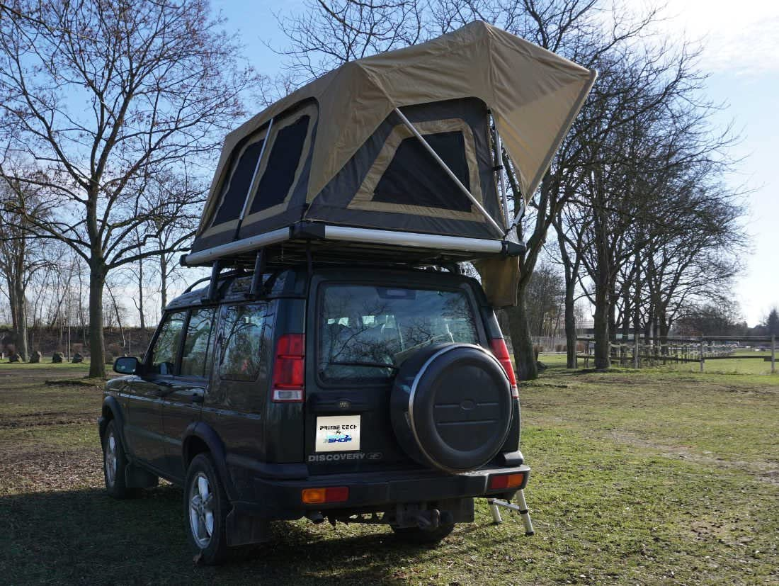 Tienda de campaña para el techo del coche, de Prime Tech, Normandy 140: Amazon.es: Deportes y aire libre
