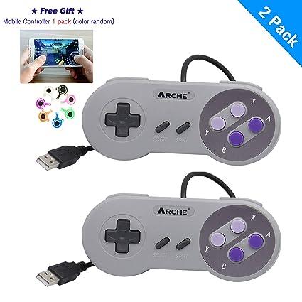 Amazon com: ARCHE USB Controller Compatible with Nintendo