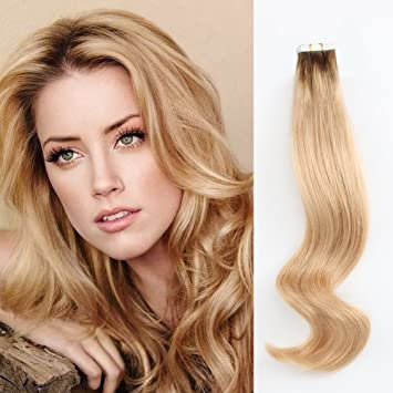 Blonde extensions with dark roots