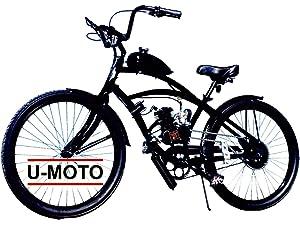9e4315d9824 Amazon.com: VIPER 275 DIY 2-Stroke 66CC/80CC Motorized Bike KIT with ...
