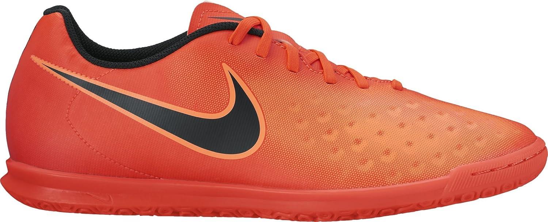 Nike Magistax Ola II TF, Chaussures de Football Homme, Rouge (Total Crimson/Black-Bright Mango), 46 EU