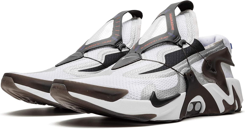 petrolio pallido capolavoro  Amazon.com | Nike Adapt Huarache (White/Black-Bright Crimson | Shoes