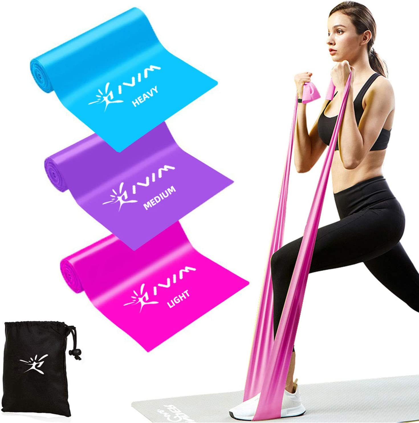 Your Fit Your Style! 2020 RiseFit Resistant Bands for Yoga and Home Workouts