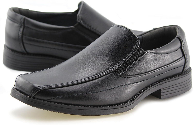 kids slip on dress shoes