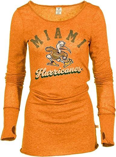 Venley Official NCAA Women's Long Sleeve Thumbhole Tee Shirt