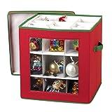 nGenius See-through Christmas Ornament Storage