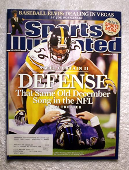 LaMarr Woodley   Pittsburgh Steelers   Steel Curtain II   Defense   Sports  Illustrated   December