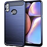 Osophter for Galaxy A10S Case,Samsung A10S Phone Case,Galaxy M01S Case Shock-Absorption Flexible TPU Rubber Full-Body…
