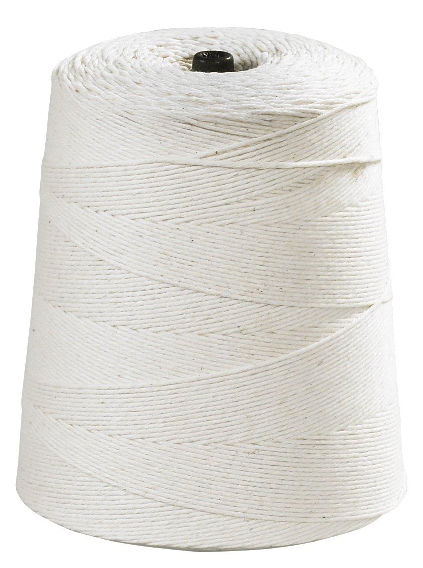 Aviditi Light Duty Cotton Twine, 8 Ply, 6300', White (TWC630) by Aviditi