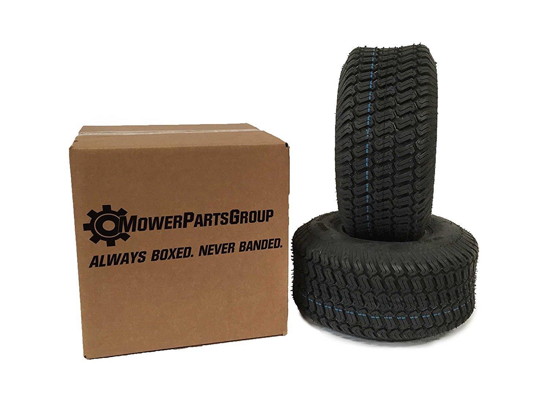 Amazon.com : (2) 16x6.50-8 Tires 4 Ply Lawn Mower Garden Tractor 16 ...