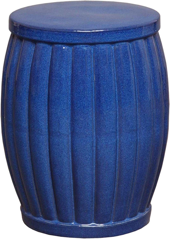 Emissary Home & Garden 12667BL Stool, Blue
